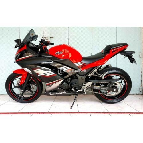 Motor Kawasaki Ninja 250 FI Bekas Harga Rp 57,5 Juta Tahun 2017 ABS SE Normal - Makassar