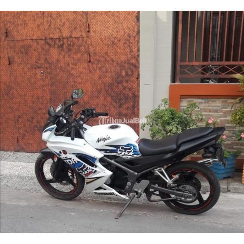 Motor Kawasaki Ninja Bekas Harga Rp 14,5 Juta Nego Tahun 2012 Pajak Off Murah - Makassar