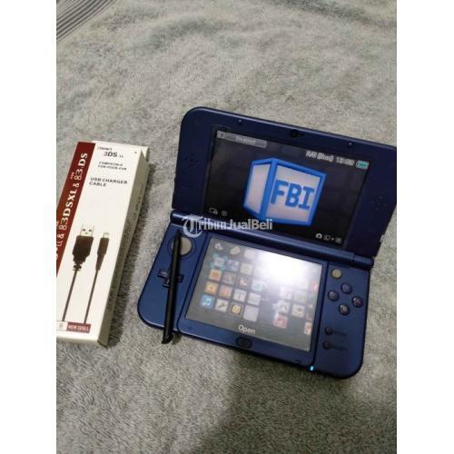 Konsol Game Nintendo 3ds xl/ll CFW 64GB Nominus Mulus Harga Nego - Jakarta