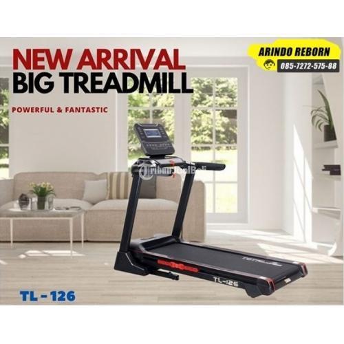 Treadmill Elektrik Total Fitness TL 126 - Jakarta Barat
