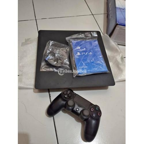 Konsol Game PS4 Slim Normal Segel Mesin Seri 21xx Harga Nego - Semarang