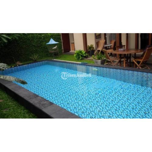 Kontrakan Kolam Renang Keramic Mosaic Garansi Bocor dan Filter - Semarang