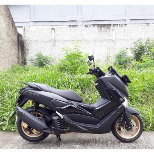 Motor Matic Murah Yamaha Nmax Non Abs 155 Bekas Tahun 2018 Mulus Lengkap No PR - Bekasi