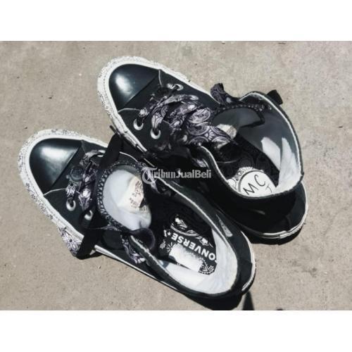 Sepatu Pria Converse CT Hi x Miley Cyrus Baru Dipakai 3 Kali Size 35 - Surabaya