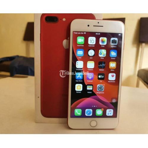iPhone 7 plus 256Gb Red Edition Lengkap Dus Mulus Bagus Harga Nego - Bandung
