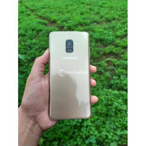 HP Bekas Samsung A8 Plus 2018 Ram 6/64GB Mulus No Minus Harga Nego - Tasikmalaya