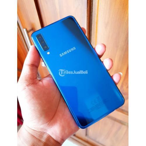 Samsung Galaxy A7 2018 Bekas Normal Segel Mulus Lengkap - Semarang