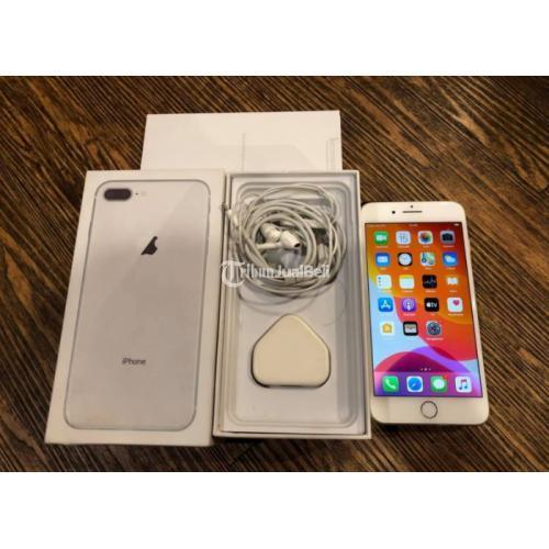 iPhone 8plus 64GB Bekas Bagus Mulus Fullset Lengkap Normal No Minus - Semarang