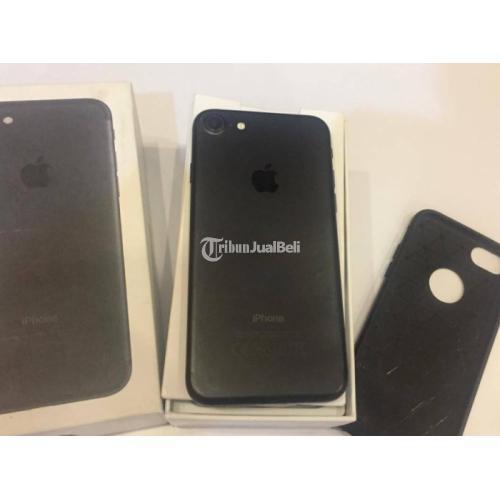 iPhone 7 128Gb Blackmatte Bekas Normal Mulus iCloud Aman harga nego - Sleman
