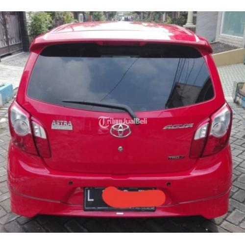 Toyota Agya S TRD 2016 Merah Bekas Bagus Mulus Mobil Bagus - Surabaya