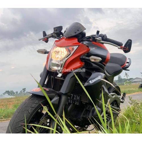 Kawasaki ER6N 2012 Full Paper Motor Bagus Orisinil Plat P jember - Surabaya