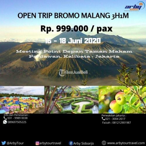 Open Trip Bromo Batu Malang Surabaya Murah dari Jakarta (Fasilitas Lengkap) - Jakarta Pusat
