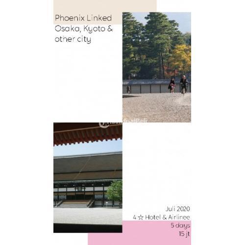 Juli Package Tours 5 Hari Osaka Kyoto Bintang 4 - Cianjur