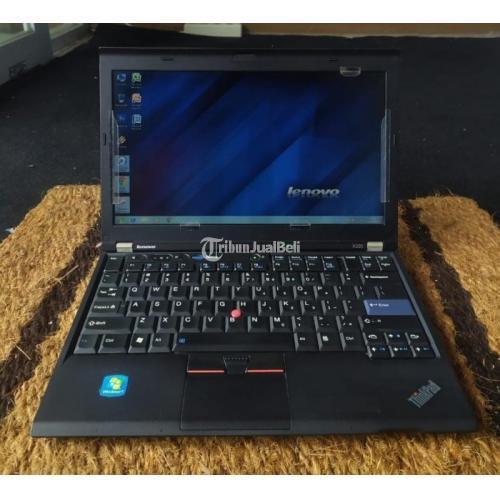 Laptop Lenovo Thinkpad X220 Bekas Core I5 Ram 8gb Gaming Murah Normal Di Bekasi Tribunjualbeli Com