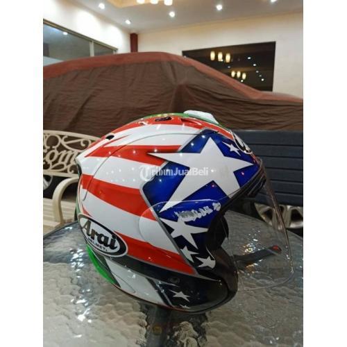 Helm Tsr Copy Arai Ram 4 Hayden Bekas Full Face Murah Mulus Size M Normal Di Bandung Tribunjualbeli Com
