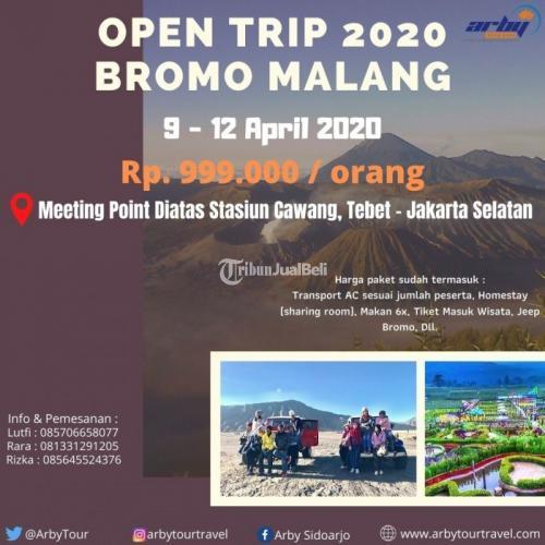 Open Trip Bromo Malam 4 Hari 3 Malam Bulan April 2020 Lengkap - Sidoarjo