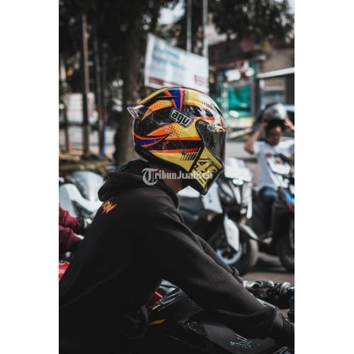 Helm Agv Pista Gp Soleluna Qatar 2015 Bekas Full Face Murah Mulus Normal Di Band Tribunjualbeli Com