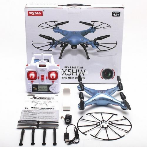 Drone Quadcopter Syma X5HW Wifi FPV Camera Altitude Hold New Sisa Stok - Jakarta Pusat