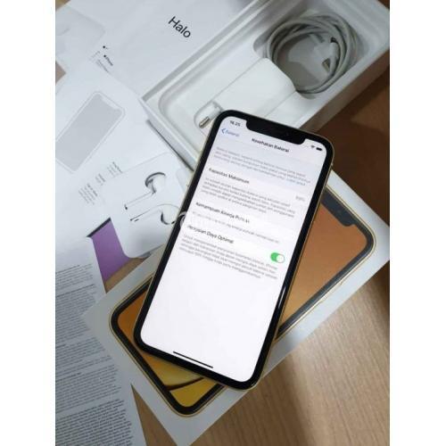 IPhone XR 256gb Resmi iBox HP Apple Bekas Normal Lengkap ...