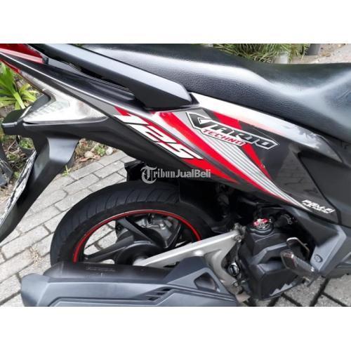 Honda Vario 125 2014 Motor Bekas Surat Lengkap Pajak Hidup Harga Nego - Surabaya