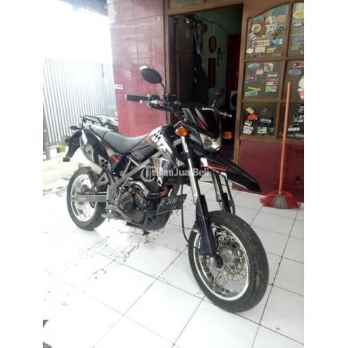 Motor Trail Murah Kawasaki D Tracker Bekas Tahun 2015 Full Original Pajak Off - Bandung