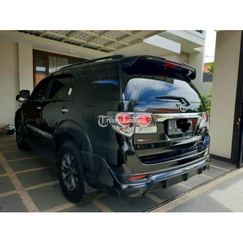 Toyota Fortuner VNT TRD Sportivo 2015 Mobil Bekas Surat Lengkap Mulus Nego - Surabaya