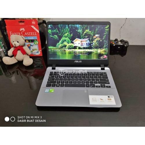 Laptop Bekas Asus VivoBook A407UF Ram 8GB SSD 512GB Berkualitas - Bandung