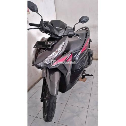 Honda Vario 125 2015 Plat L Motor Bekas Surat Lengkap Pajak On Mulus - Surabaya
