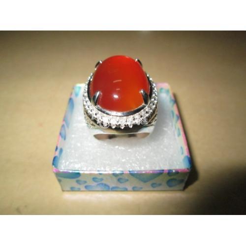 Batu Permata Red Raflesia Bengkulu Super Giwang Main Body Berair - Jakarta