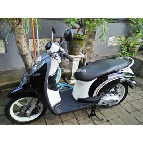 Honda Scoopy 2010 Bekas Mulus Bagus Orisinil Pajak Panjang Surat Lengkap - Bali
