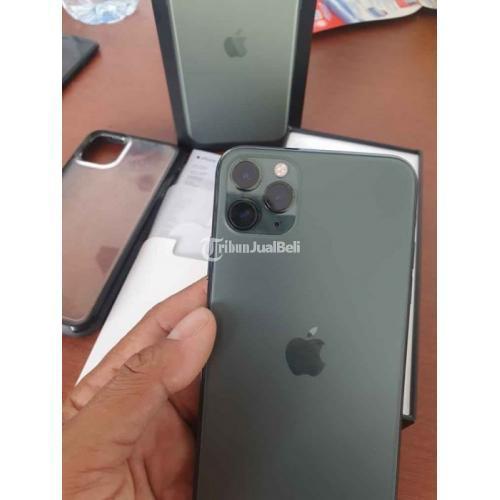 Hp Iphone 11 Pro Max Bekas 256gb Normal Like New Lengkap Original Murah Di Bali Tribunjualbeli Com