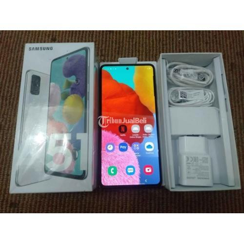 Hp Samsung A51 Bekas Ram 6gb 128gb Murah Lengkap Normal Di Malang Tribunjualbeli Com