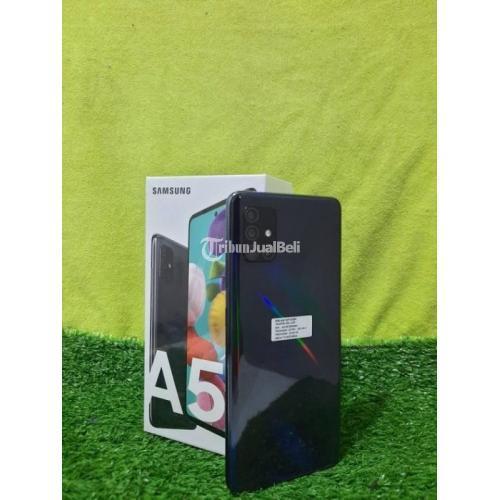 Samsung A51 Black Ram 6 128gb Hp Bekas Pribadi Komplit Siap Pakai Di Semarang Tribunjualbeli Com