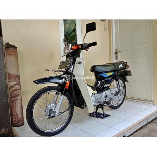 Motor Suzuki RC100 DK Bekas Tahun 1992 Original Pajak Hidup Harga Murah - Jogja