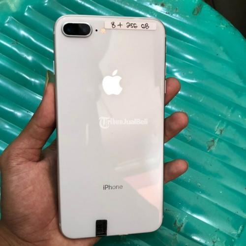 Hp Iphone 8 Plus 256gb Bekas Warna Silver Mulus Lengkap No Minus Di Palembang Tribunjualbeli Com