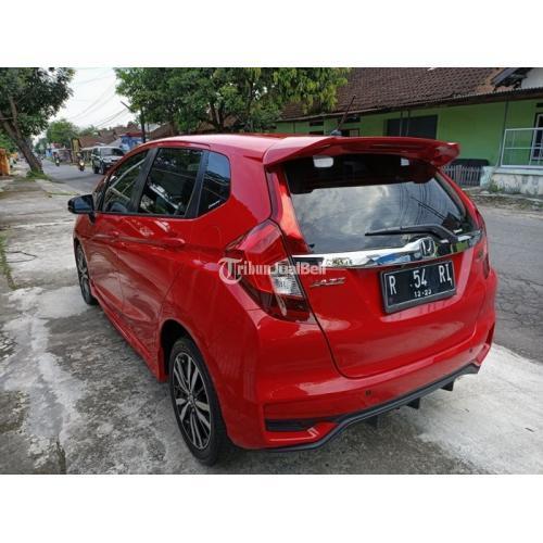Mobil Honda All New Jazz Rs Bekas Tahun 2018 Matic Murah Normal Harga Nego Di Sleman Tribunjualbeli Com