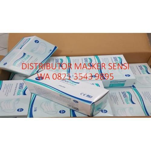 Masker Sensi Earloop 1 Juta Box Di Jakarta - Banyumas