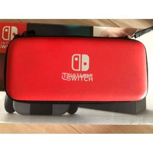 Konsol Nintendo Switch Bekas CFW Normal Lengkap Bonus Pouch Murah - Jakarta Selatan