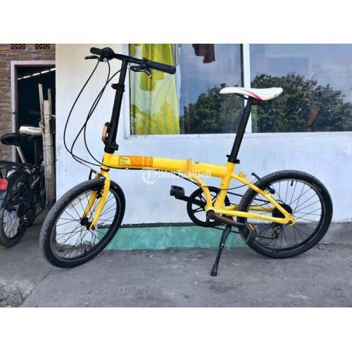 Sepeda Lipat Polygon Biketowork B2w 20 Original Harga Bisa Nego Di Solo Tribunjualbeli Com