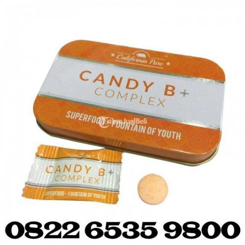 Candy B+ Complex Asli Permen Tahan Lama - Medan