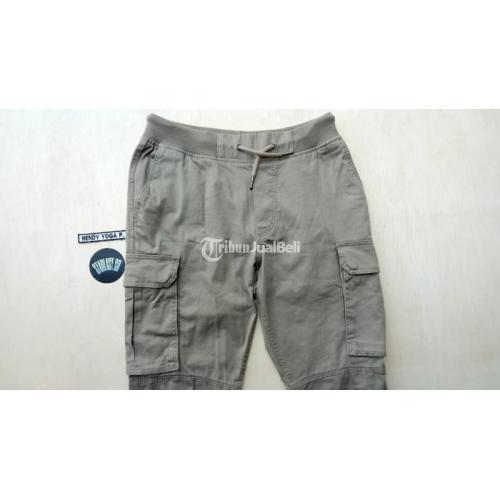 Celana Panjang / Long pants cargo H&M New Size XS Lengkap Paper Bag - Surabaya