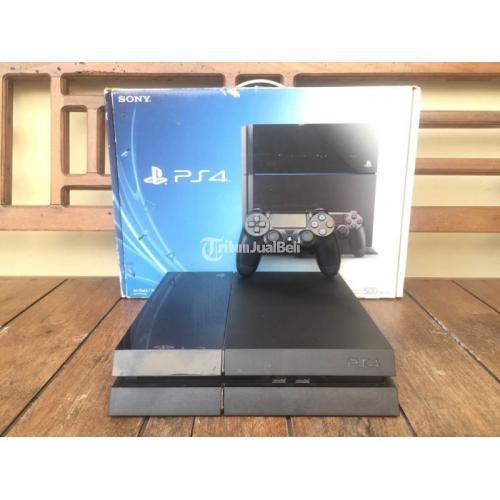 Ps 4 Fat Lengkap Hdd 500 Gb Segel Void Sony Bekas Normal Semuanya Di Jogja Tribunjualbeli Com