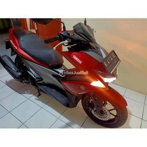 Yamaha Aerox 2018 Merah Surat Komplit Plat B DKI Jakarta