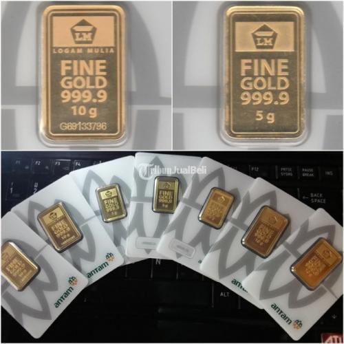 Logam Mulia Emas Batangan Antam 10 gram - Bekasi