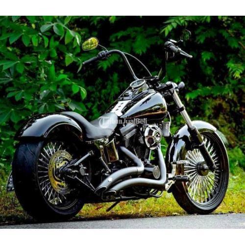 Harley Davidson Softail Custom Chopper Frame asli HD basic ...
