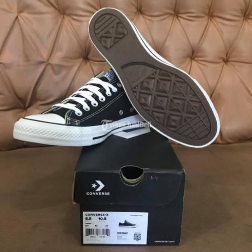 Sepatu Converse CT I ALL Star OX Black Original BNIB Vietnam - Madiun