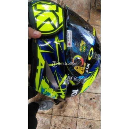Helm KYT Falcon Bekas Harga Rp 700 Ribu Nego Full Face Murah Normal - Jakarta