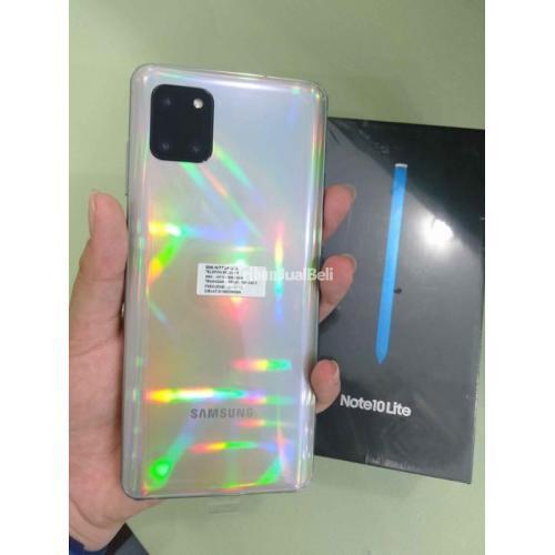 HP Samsung Galaxy Note 10 Lite Ram 8/128GB Lengkap Ori Mulis Garansi - Medan