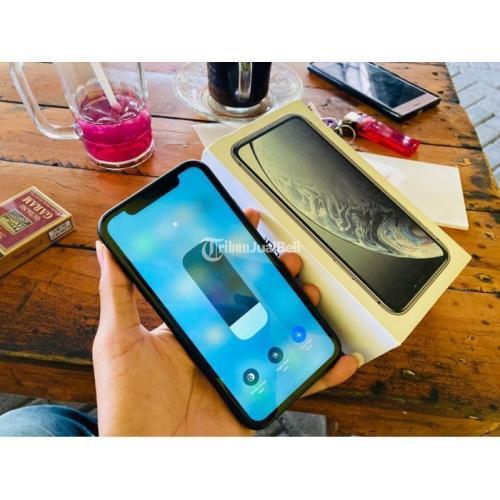 iPhone XR Black 64GB Bekas Fullset Siap Pakai Normal Nominus - Surabaya