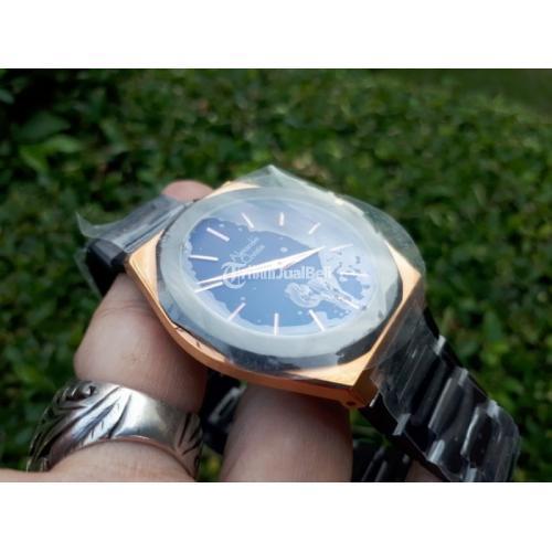 Jam Tangan Pria Alexandre Christie AC8600MD AC-8600MD Black Rose Gold Stainless - Jakarta